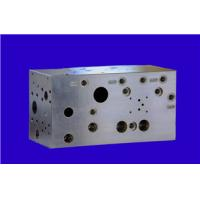 Buy cheap Carbon steel Material CNC machining parts , Hydraulic control valve block product