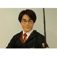 Famous Star Sculpture Celebrity Wax Figures Of Harry James Potter OEM ODM
