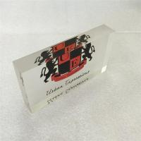 Buy cheap factory customized acrylic printing block with printing Logo product