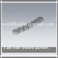 Buy cheap Strong Flat Neodymium Disc Magnets for Motors Plated Zinc / Nickel product