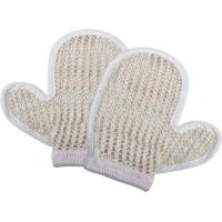 Buy cheap Natural Customized Dead Skin Exfoliating Shower Mitt Sisal Body Scrubber Glove product