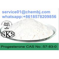 China Female Hormones Progesterone CAS 57-83-0 for The Regulation of Ovulatione wholesale
