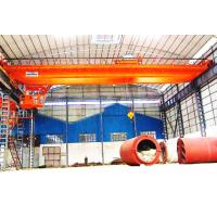 Buy cheap High Pressure Double Crank Electric Double Girder Overhead Crane With Remote Control product
