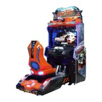 China Metal Force Car Racing Arcade Machine 110V / 220V Voltage 200kg Weight Colored on sale