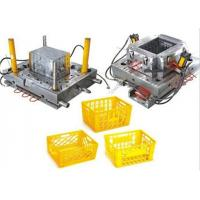 Quality China plastic injection molding Plastic injection molds for transportation turnover basket for sale