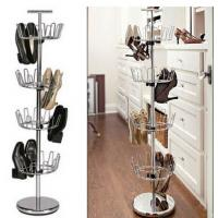 Buy cheap Revolving Shoe Rack Tree 4 Tier selling from wholesalers