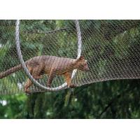 Buy cheap Stainless Steel Animal Enclosure Mesh Lightweight Leopard Mesh Protection from wholesalers
