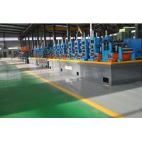 Buy cheap Super Carbon Steel ERW Pipe Mill , High Precision Square Tube Mill Machine product
