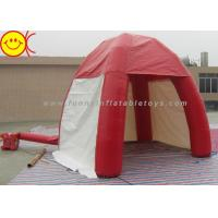 Buy cheap Outdoor Lawn Event Mini 3m Inflatable Tent PVC Red Inflatable Dome Tent With Door from wholesalers