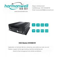 Buy cheap 4ch HD 720P AHD Harddisk MDVR GPS+3G+WIFI  WIFI automatically searching product