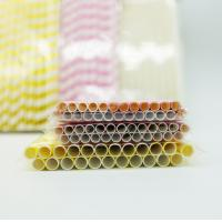 Buy cheap Drinking Flexible Paper Straws , Paper Straws Recyclable Restaurant Supply Paper Products product