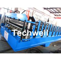 Buy cheap Double Layer Roll Forming Machine For Roofing Sheet Forming Machine With Hydraulic Cutting product