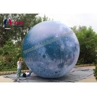 Quality Attractive Giant inflatable balloon lighting,Inflatable LED moon balloon Blow Up ball with Strong Material for sale