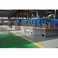 Buy cheap Large Size Industrial Tube Mills , Friction Saw Cutting Square Tube Mill product