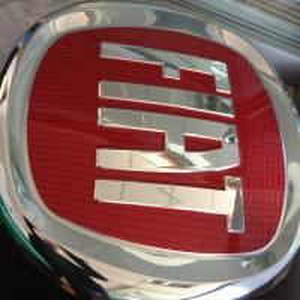 Buy cheap Fiat dealer use Programmable Advertising acrylic Chrome Led 3D Car Logo Signage product