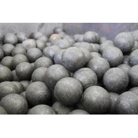 Buy cheap Carbon / Alloy Steel Forged Steel Ball GCr15 Grade Steel Grinding Balls For Cement Plants product