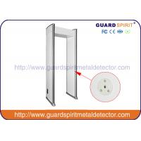 Buy cheap High Sensitivity DSP Technology Walkthrough Metal Detector , Arco Metal Detector Gate product