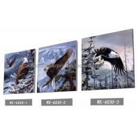 Buy cheap Frameless PET 3d Lenticular Image / Animal 3d Lenticular Christmas Cards For Decoration product