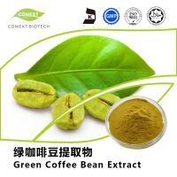 Buy cheap Comext Supply Green Coffee Bean Extract 50% Chlorogenic Acid Yellow Brown Powder from wholesalers