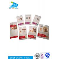 Buy cheap Transparent Aluminium Foil Laminated Pouches Long Reusable Zip Lock Bags product