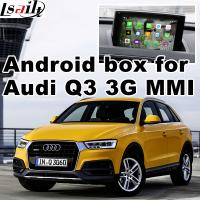 Android Multimedia Video Interface For Audi Q3 , Gps