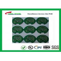 Buy cheap 2 Layer Lead Free HASL Custom Printed Circuit Board PCB Material FR4 1.6MM Green Solder Mask product