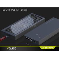Buy cheap camping Solar power bank , waterproof solar charger for business gift product