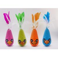 Buy cheap Bird Shaped Design Wobble Cat Toy Non Toxic Material With Natural Feathers product