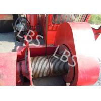 Buy cheap Oil Field Downhole Operation Offshore Winch Workover Rig Winch Steel Wire Rope product