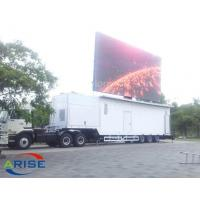 Quality Factory directly sale Outdoor advertising mobile trailer/vehicle/van/truck for sale