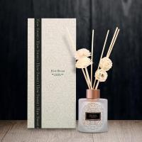 Buy cheap 120ml Glass Bottle Reed Diffuser with color box for Home Fragrance product