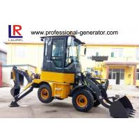 Buy cheap 1Ton Heavy Construction Machinery , Backhoe Wheel Loader with 50HP YUNNEI Engine product