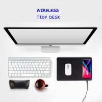 China MOUSE PAD WIRELESS CHARGER Blank custom mouse pad fast charging Qi standard wireless charger for iPhone x iPhone 8 on sale