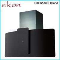 Buy cheap 90cm Black Glass Island Kitchen Cooker Hood product