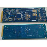 """Buy cheap 6 Layers Rigid FR4 Rapid Prototyping PCB ENIG Surface Hard Plating Gold Finger 10u"""" product"""