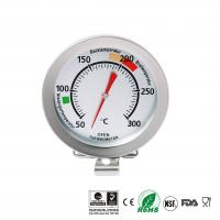 China Kitchen Measurement Tool BBQ Oven Thermometer Silver Color For Cooking on sale