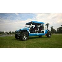 Buy cheap 50kw 1100cc Gas Powered Utility Vehicles With 4 Seats Blue / Green product