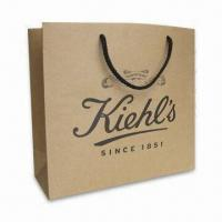 Buy cheap kraft paper shopping bag recycled kraft paper bag any size any printing product