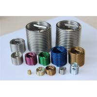 Quality Stainless steel free running screw inserts for PVC foam plate for sale