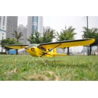 Buy cheap 2.4Ghz Mini Piper J3 Cub Radio Controlled Toy 4ch RC Airplanes with High - Wing Trainer product