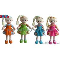 "Buy cheap 11.8""Wholesale Plush Girl 3D Doll Toy As First Gift For baby product"