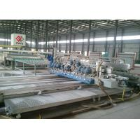 Buy cheap Omron PLC Structural Glass Double Edging Machine  / Glass Straight Line Edging Machine product