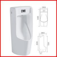 Buy cheap cheap ceramic wall hand automatic sensor urinal urine pot for male product