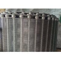 Buy cheap Stainless Steel Flexible Flat Wire Mesh Conveyor Belt For Bread Industry product