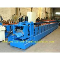 Buy cheap ISO / CE Approved Metal Ridge Cap Tile Roll Forming Machine Production Line High Speed product
