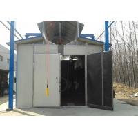 Buy cheap Environmental Protection Shot Blasting Booth With Dust Removal System / Lighting Device product