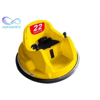 Buy cheap Wholesale Colorful Plastic Battery Operated Electric Toddler Remote Control Bumper Kids Round Spining Bumper Car Ride product