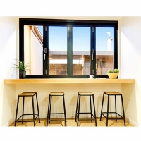 Buy cheap Pantry Forested Glass Vertical Aluminium Bi Fold Window product