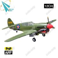 Buy cheap P40 Warhawk 12CH EPO Material Electric RC airplane propeller plane product