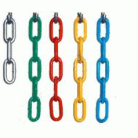 Buy cheap Welded Industrial Link Chain , G80 Long Overhead Lifting Chain Alloy Steel Material product